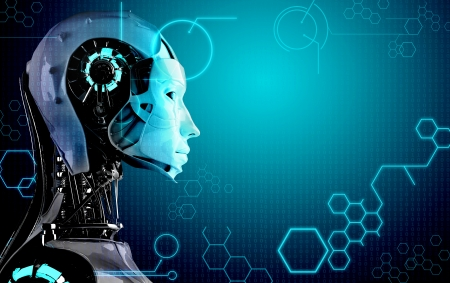 robot: equipo fondo robot