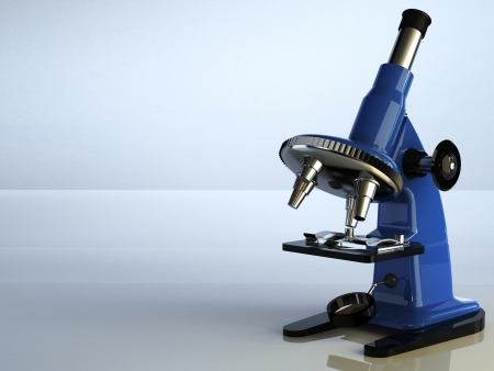 microscoop Stockfoto