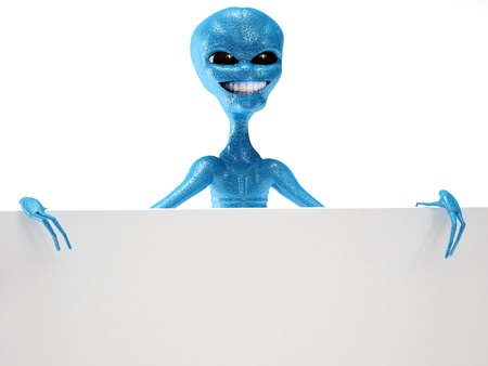 alien Stock Photo - 19113446