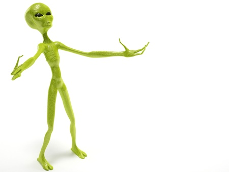 alien Stock Photo - 19113316