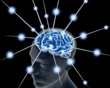 medecine man power: cerveau, et des impulsions processus de la pensée humaine