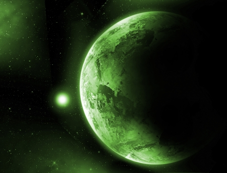 fantasy fiction: Planet