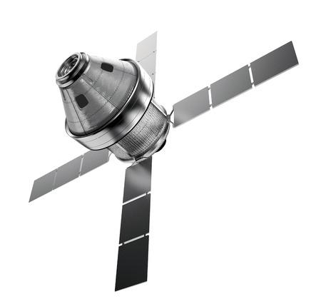 satellite in space: satellite isolated