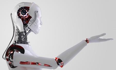 로봇 인조 인간 남자 스톡 콘텐츠