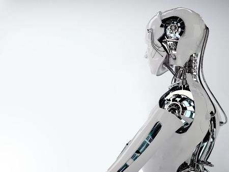 ロボットの男性