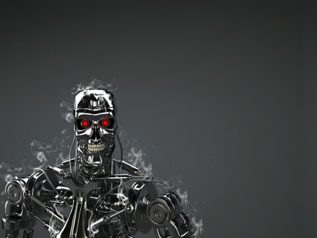 로봇 배경