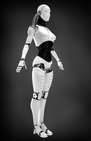 robot women photo