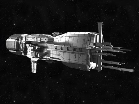 space wars: spaceship