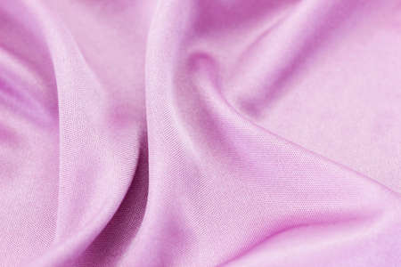 Pale lilac silk background  photo