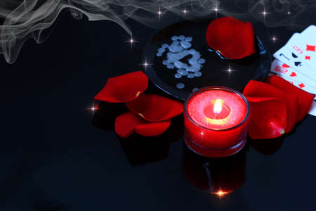Divination, love spell  photo