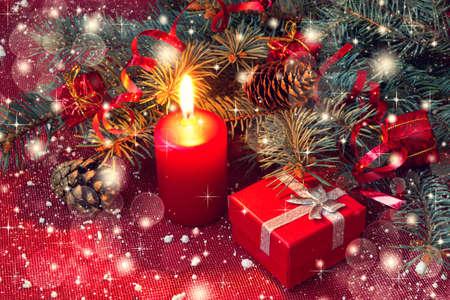 beautiful christmas decorations  photo