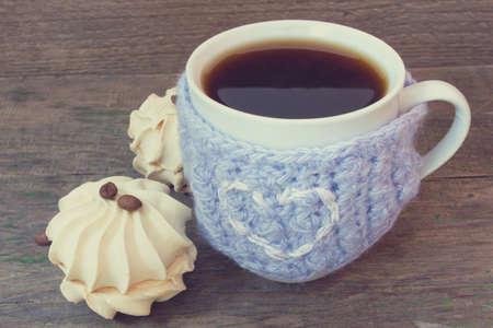 zephyr: mug of coffee and vanilla zephyr