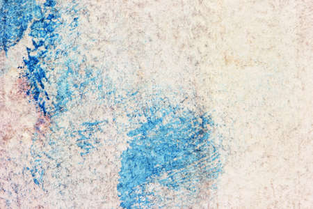 blotches: old dirty grunge parchment with blue blotches