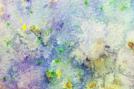 smudges: watercolor background with colorful smudges  Stock Photo