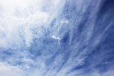 sky with clouds after rain photo