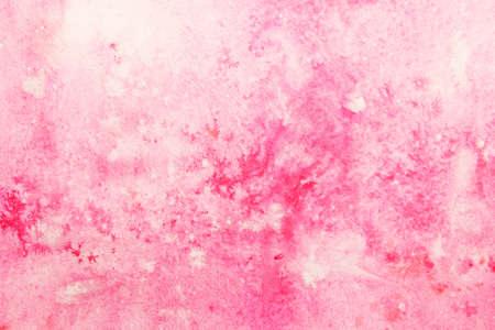 pale pink watercolor smudges