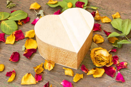 gift box for Valentine s Day  Stock Photo - 27410397
