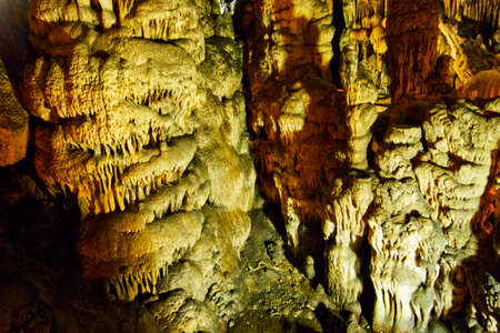convexity: view inside a cave
