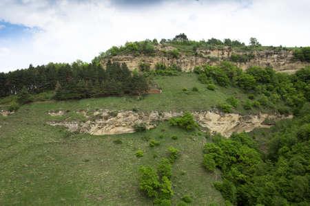low mountains, nature landscape