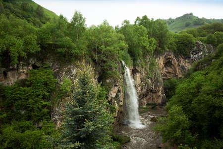 waterfall, beautiful view