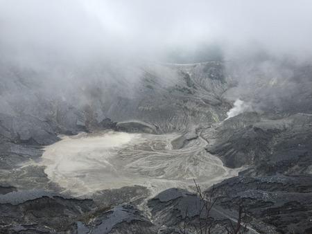 kampung: Tangkuban Perahu Crater