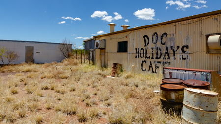 Wittenoom, Pilbara, Western Australia - the deserted town not on any map to discourage visitors from encountering the deadly blue asbestos in the area