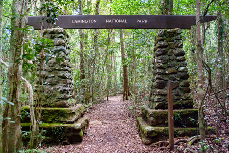 An impressive gateway to the Lamington National Park, Queensland