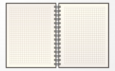 opened blank book Stock Vector - 15442160