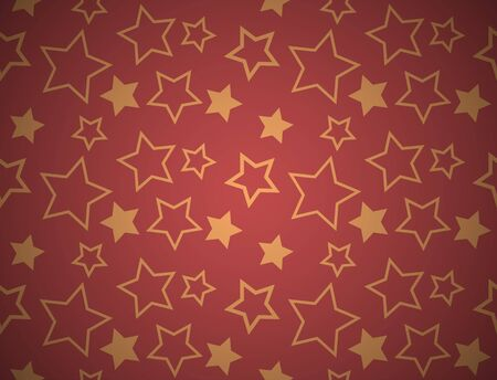 Seamless star texture Vector