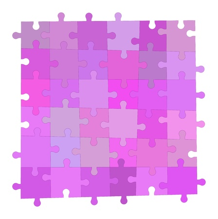 Velvet simple puzzle background Stock Vector - 15809956
