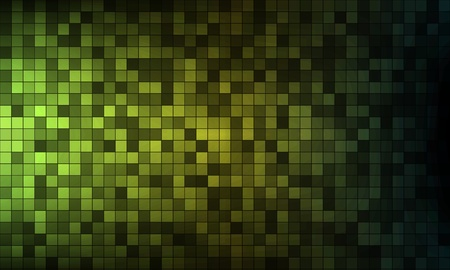 Abstract green pixels background Stock Vector - 17628545