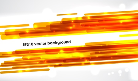 placeholder: Cool banner with bright orange stripes and a placeholder