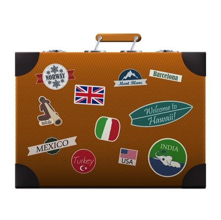 valise voyage: Voyageurs