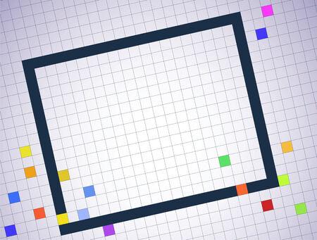 Vector pixel background Stock Vector - 23228099