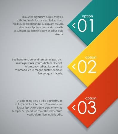 Abstracte achtergrond met gekleurde geometrische vormen. EPS10 vector. Stock Illustratie