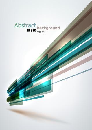 Grijs en blauw abstracte vormen achtergrond. EPS10 vector. Stock Illustratie