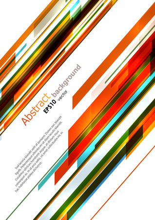 Dynamic bright diagonal stripes background. EPS10 vector. 向量圖像