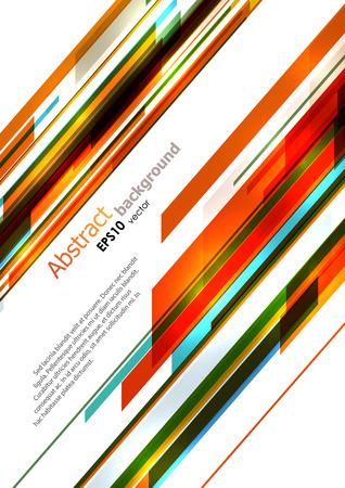 rayures diagonales: Dynamique lumineux rayures diagonales fond. Vecteur EPS10. Illustration