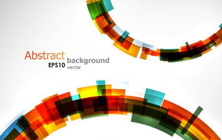 Abstracte koele kleurrijke achtergrond. Stock Illustratie