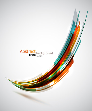 Cool abstract shape background.
