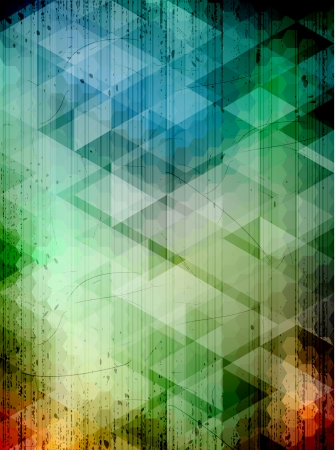 Creative abstract hexagons background. EPS10 vector. Vector