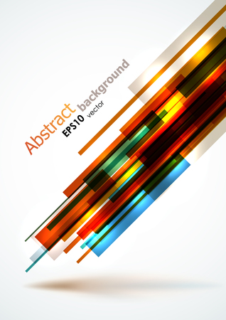 Abstract bright lines background. EPS10 vector, dynamic composition.
