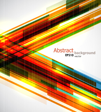 Dynamic colorful stripes background.