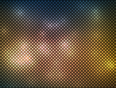 Abstract blurry light spots on dark background. EPS10 vector image. Vector