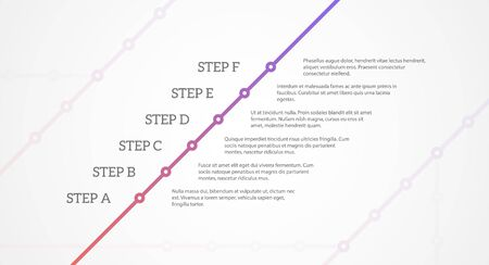 eps10 vector background: Simple time line template. EPS10 vector background. Illustration
