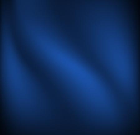 Golven op een donker blauwe stof materiaal. Eenvoudige vector achtergrond.