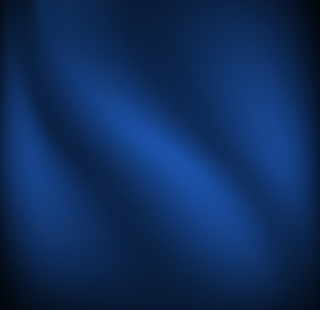 Waves on a dark blue fabric material. Simple vector background.