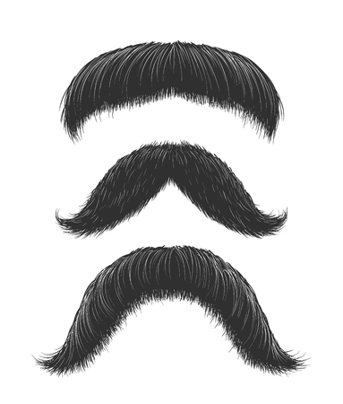 Comic Mustaches Set