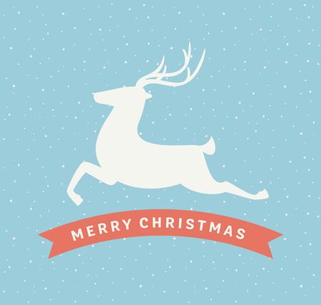 Christmas Deer Sign
