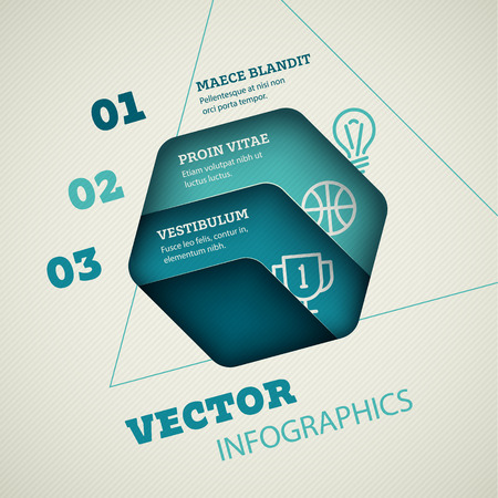 Abstract Vector Infographic